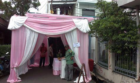Tenda Rumah paket pernikahan rumah di jakarta barat ns tenda