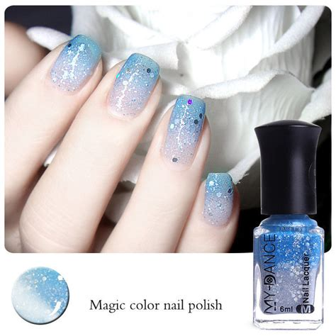 color changing nail 6ml thermal nail varnish color changing peel