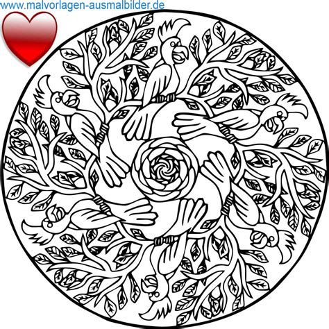 Vorlage Mandala by Ausmalbilder Mandala Vorlagen Kostenlos Malvorlagen Zum