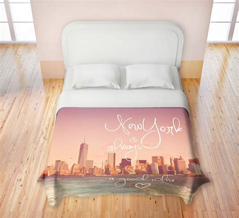 new york skyline comforter new york city skyline bedding nyc themed bedroom ideas