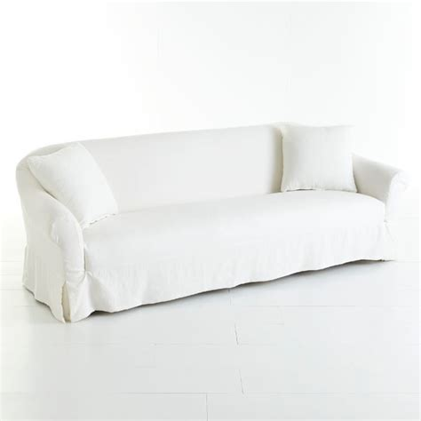 Extra Long Slipcover Sofa Modern Sofas Dallas By
