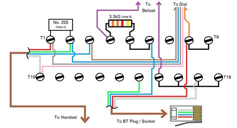 telephone extension cable wiring diagram within gooddy org