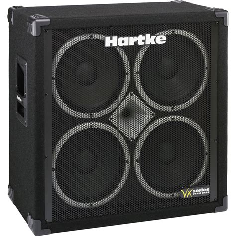 hartke bass cabinet hartke vx410 4x10 quot bass cabinet with 1 quot vx410 b h