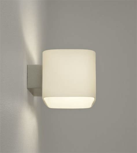 2nd ii none back up the wall led opal glass wall light