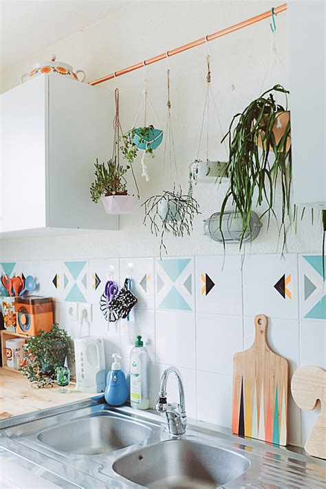 plants in the kitchen 24 ways to hang plants on the wall andrea s notebook