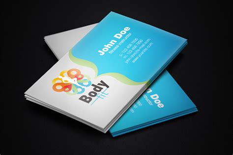 Fitness Business Card Template by 22 Fitness Business Cards Free Psd Ai Vector Eps