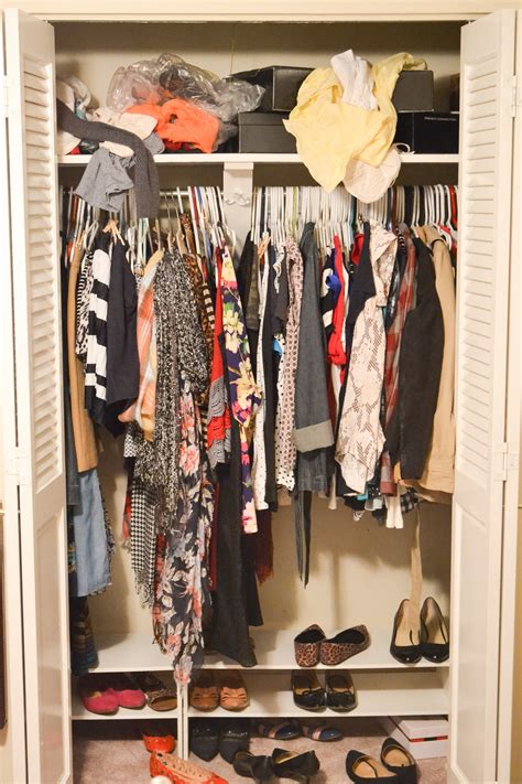 Cluttered Closet by How To Buy Clothes With No Regrets Yet Trendy
