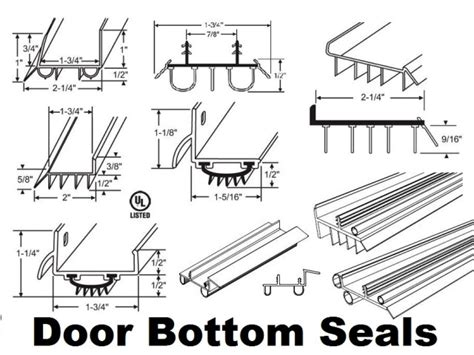 andersen door bottom sweep replacement door bottom seals door sweep seals and threshold weather