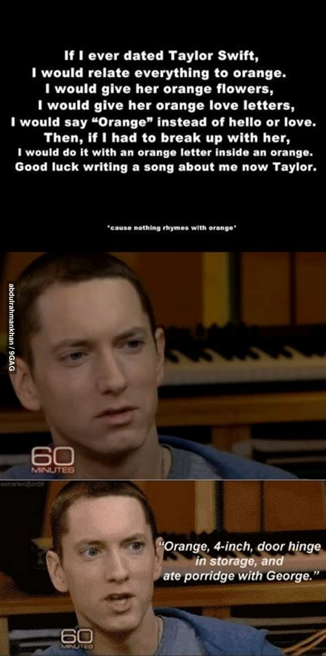 eminem taylor swift eminem on going out with taylor swift
