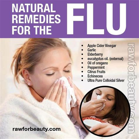 home remedies for the flu feel better
