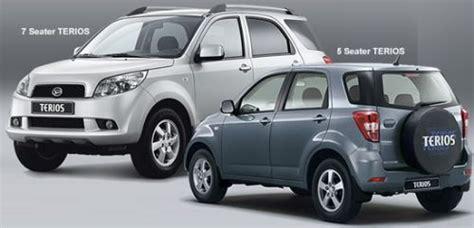 Kopling Mobil Terios harga mobil daihatsu terios dan spesifikasi detailmobil