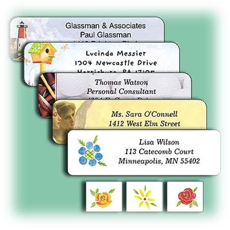 printing mailing labels using pages address labels return address labels custom printed labels