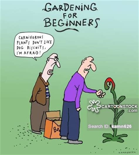 Gardening Chore Cartoons and Comics   funny pictures from