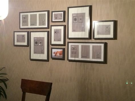 picture wall template ikea gallery wall layout ikea ribba frames in grey home