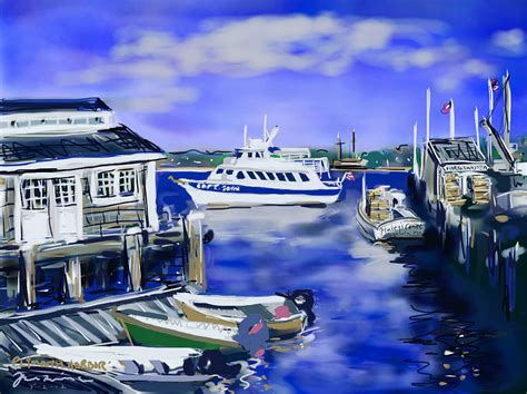 painting plymouth plymouth harbor painting by jean pacheco ravinski
