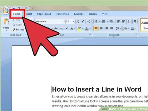 How To Draw A Diagonal Line In Word