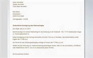 Muster Und Vorlagen Zur Kündigung Des Mietvertrages Mietvertrag K 252 Ndigen Muster Vorlagen Tipps Freeware De