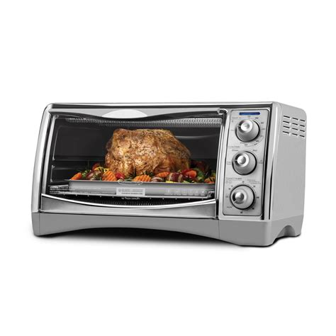 Black And Decker Toaster Oven Shop Black Decker 6 Slice Convection Toaster Oven At