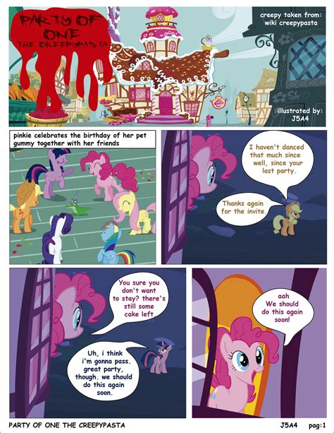 english party of one mlp creepypasta mlp party of one pag1 creepypasta english by j5a4 on