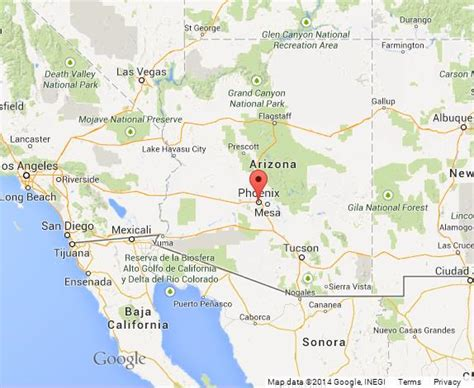 map world az on map of arizona world easy guides