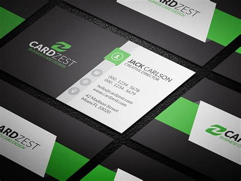 modern business card template hip and trendy modern business card template 187 cardzest
