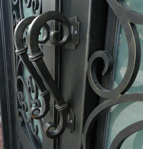 wrought iron exterior door hardware wrought iron exterior door hardware florida iron doors