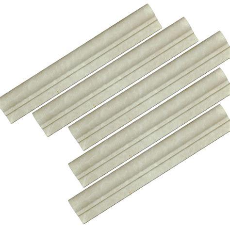 marble chair rail trim botticino beige marble chair rail ogee 1 molding