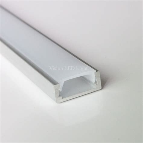 led light covers 30pcs 60m a lot 2m per anodized diffuse clear