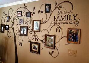 gallery for gt family tree wall mural stencil creative genius art family tree wall mural