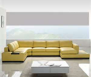 Yellow Sectional Sofa Th 109 Modern Yellow Sectional Sofa Ct35y 2 850 00 Modern Furniture Contemporary