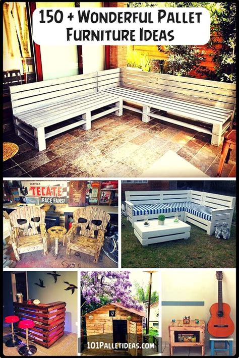 150 wonderful pallet furniture ideas page 2 of 16 101
