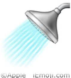 Clean Bathtub Naturally Shower Emoji U 1f6bf