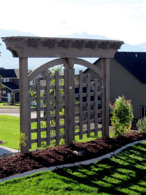 Arbor And Trellis Arbors And Trellises Timber Kits Western Timber Frame