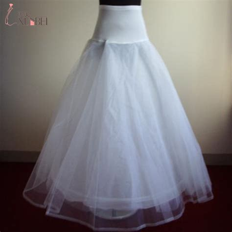 In Stock A Line Petticoats For Wedding Dress Cheap Free