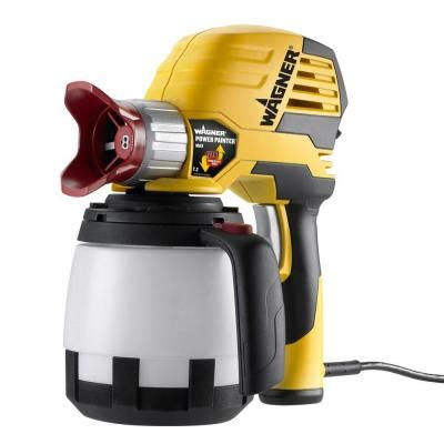 using a home depot paint sprayer wagner power painter max 7 2 gph paint sprayer 0525032