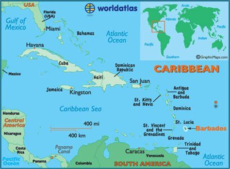barbados photos world atlas