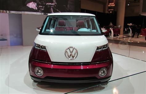 volkswagen microbus 2016 электрический volkswagen microbus покажут на ces 2016