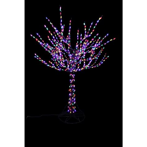 home accents lights home accents 96 in led pre lit bare branch tree