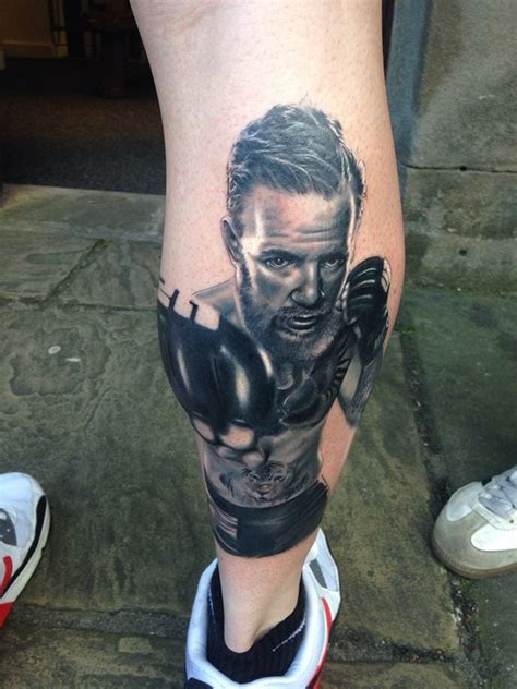 conor mcgregor tattoo fan conor mcgregor fans put their passion in ink tattoodo