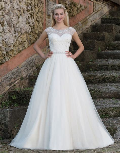 Dress Sabrina Hk Cc 1 sincerity wedding dress style 3887 the charismatic princess look created by this gown is
