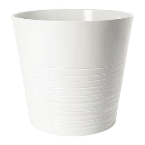 white pot muskot plant pot 12 189 quot ikea