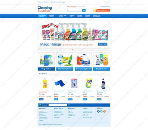 magento enterprise template cleaning supplies magento theme properhost