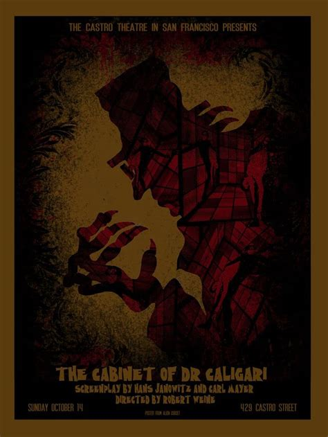 Cabinet Of Dr Caligari Poster by 32 Best The Cabinet Of Dr Caligari Images On