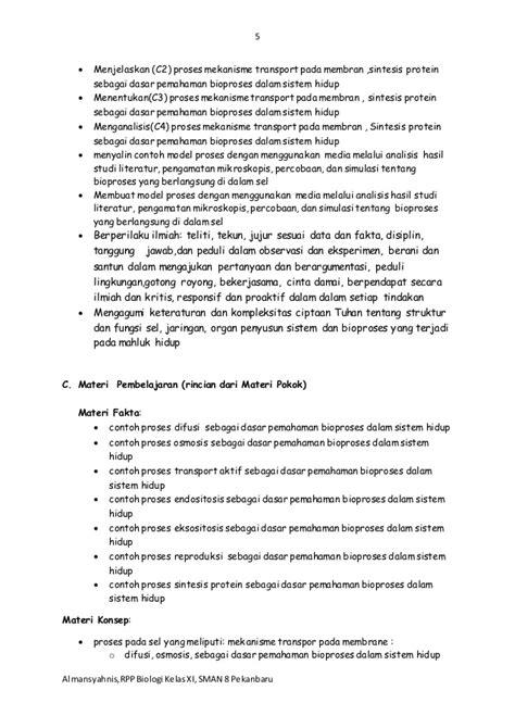 format laporan biologi contoh laporan biologi mekanisme transpor membran contoh