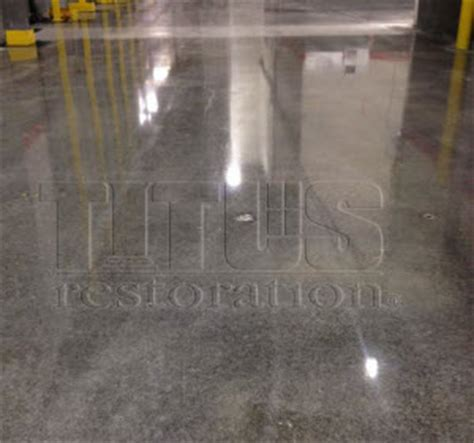 titus carpet cleaning polished concrete systems