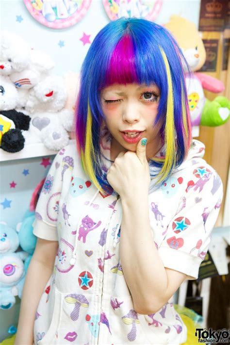 hair by tokyo viva cute candy kawaii colourful hair salon in tokyo