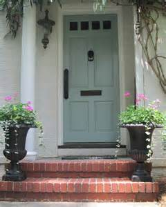 Light Blue Front Door by Some Like A Project Inspiration For Our Front Door