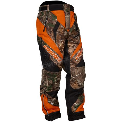 Castle X Realtree Camo/Dark Orange Fuel G5 Pants   73 5189