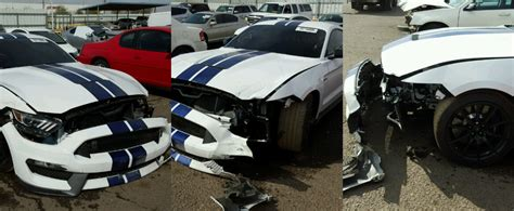 crashed mustang gt for sale crashed ford mustang shelby gt350 listed on copart