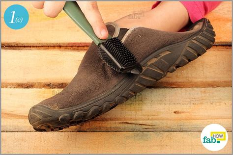 how to shoes how to clean suede shoes remove water and mud stains